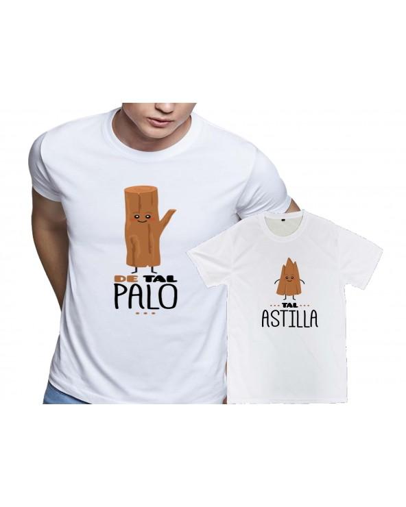 Pack 2 camisetas Tal palo...