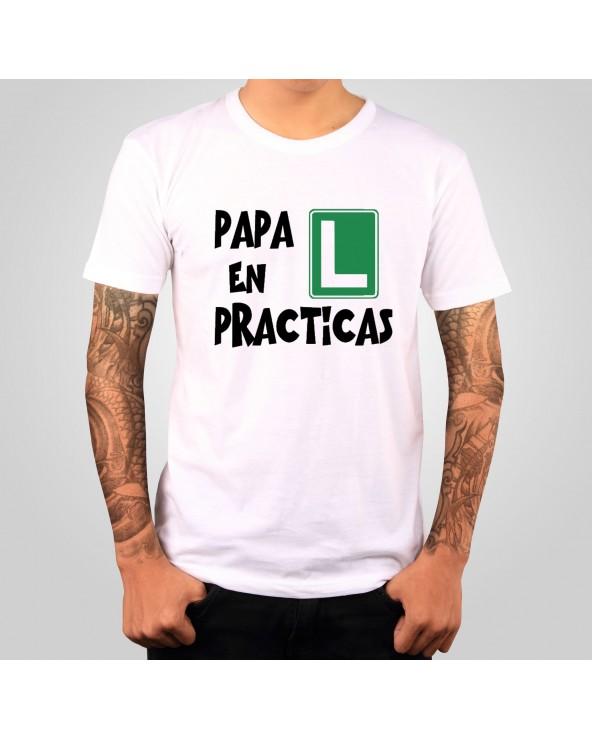 Camiseta mod.Papa en practicas