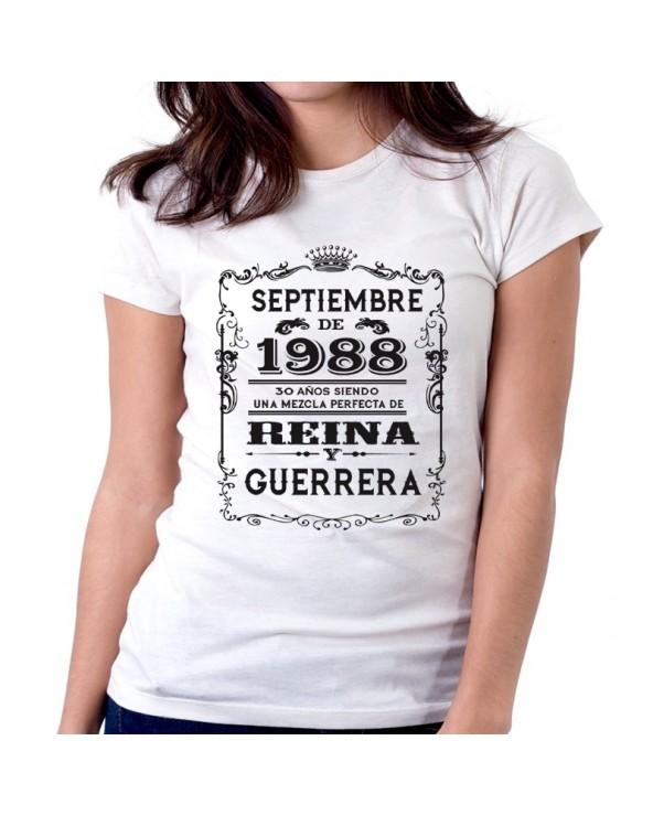 Camiseta mod. Reina y Guerrera