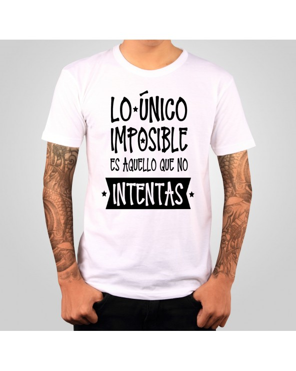 Camiseta Con mensaje...
