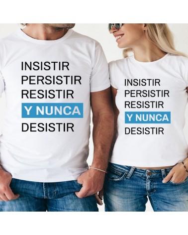 "Camiseta ""Siendo increíble"" Gris"