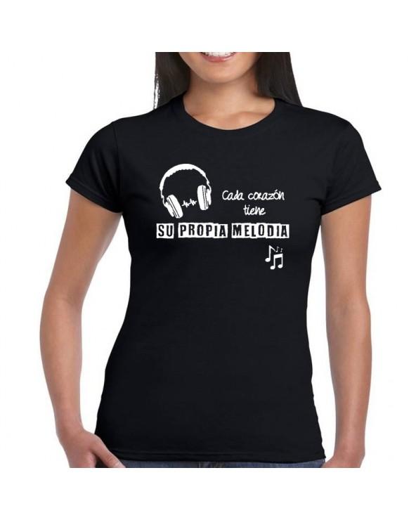Camiseta mujer con mensaje...