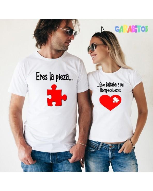 Pack 2 camisetas mod. Puzzle