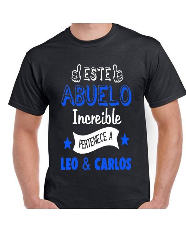 Camiseta mod. Abuelo...